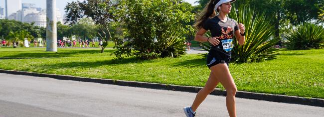 corrida e mulheres