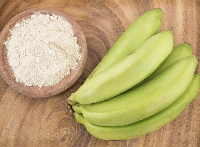 Os benefícios da banana-verde para o seu treino