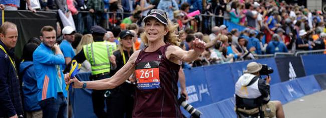 Uma maratonista que representou todas as mulheres
