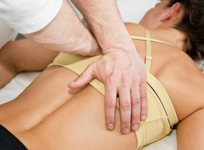 poste na massagem para livrar dores da corrida
