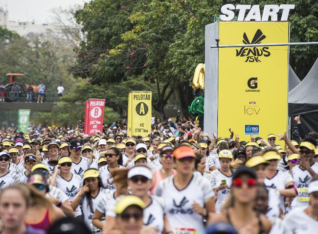 10 anos da Corrida Venus: Edição Rio reúne cerca de 4 mil mulheres