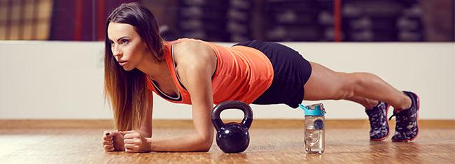 Exercícios abdominais avançados