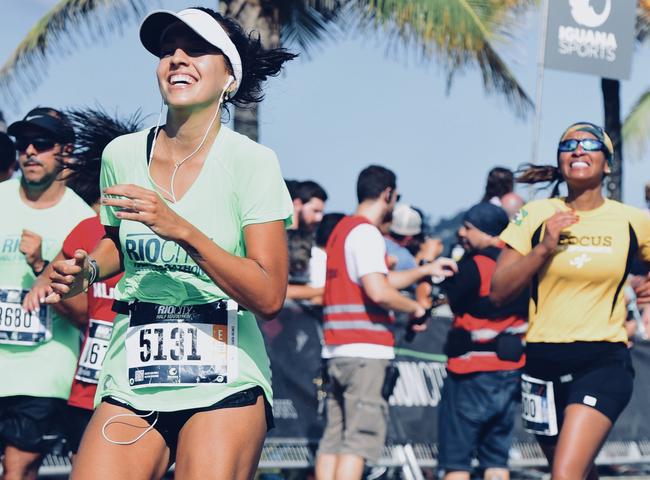 """""""Minha mãe foi a minha maior inspiração para correr a meia maratona"""""""