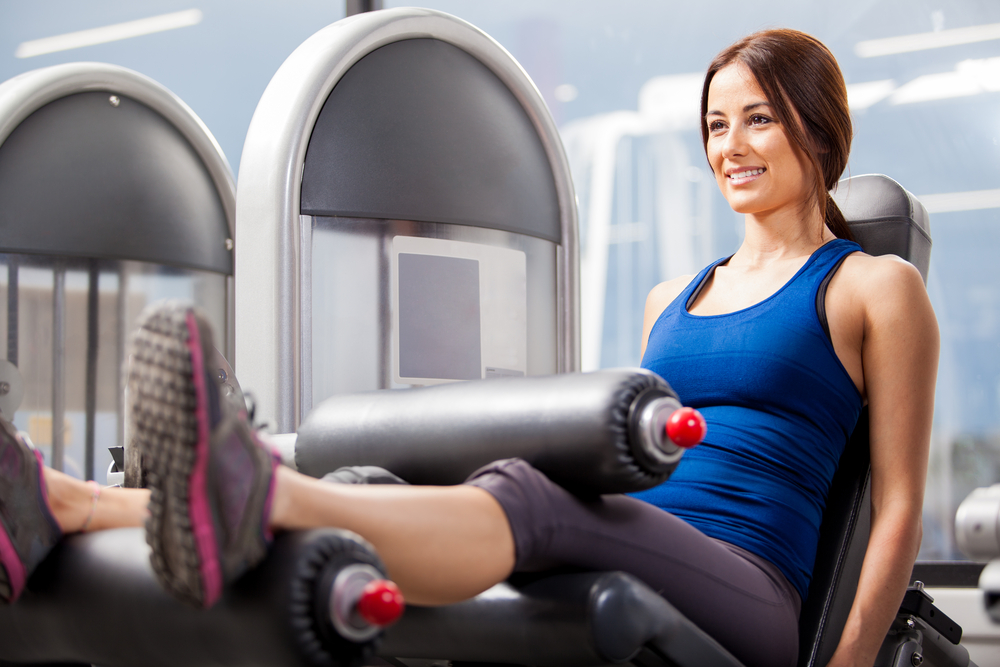 exercícios musculação