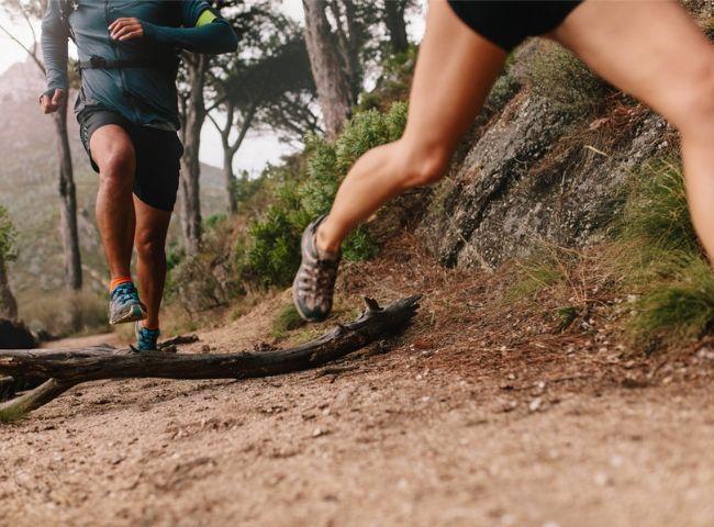 corrida de trilha