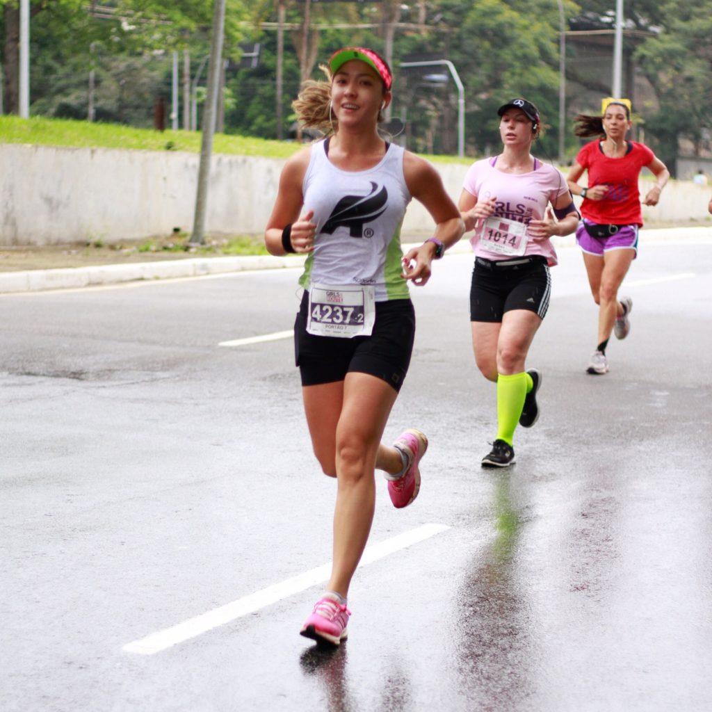 A corredora Fernanda Hatori