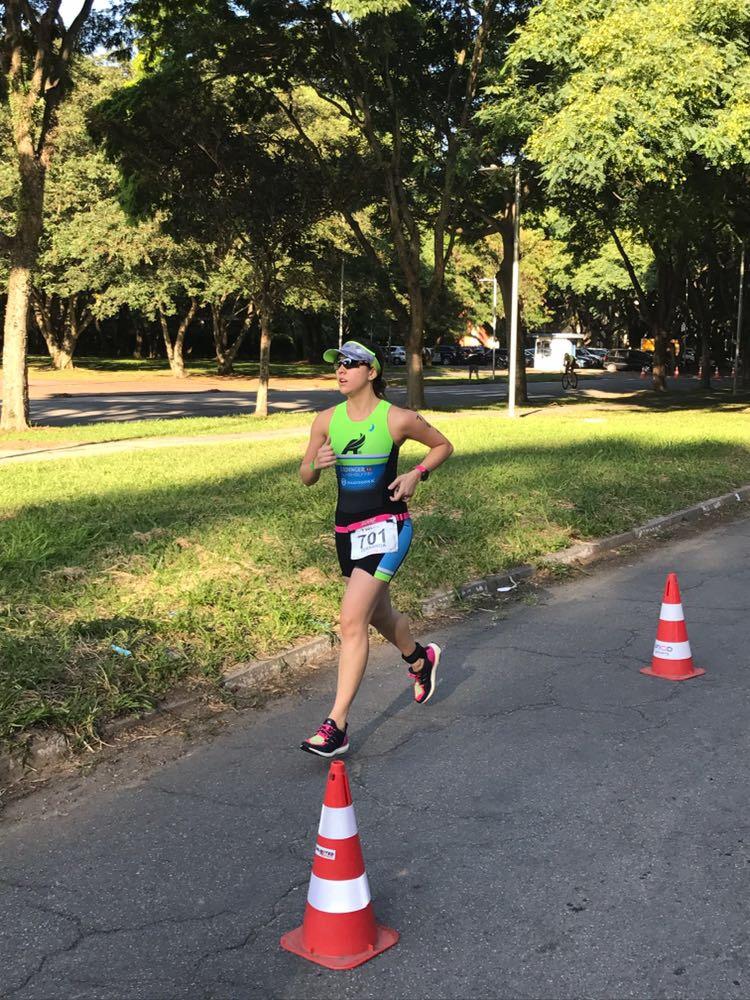 A corredora Fernanda Hattori